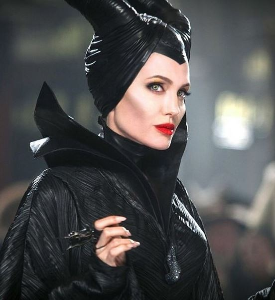 Angelina Jolie in a still from 'Maleficent'