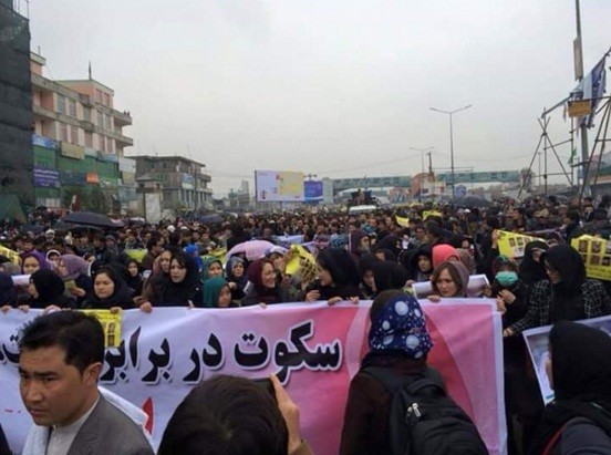Kabul protests against Isis beheading