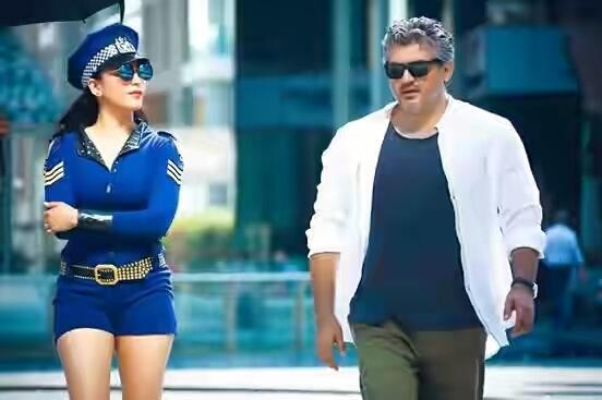 Ajith and Shruti Haasan in