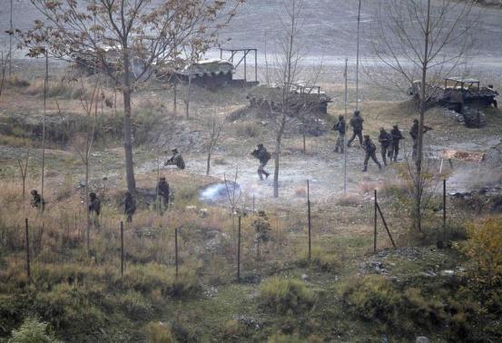 Indian Army kills 5 militants