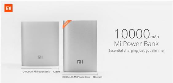 Xiaomi launches 10,000 mAh Power Bank in India