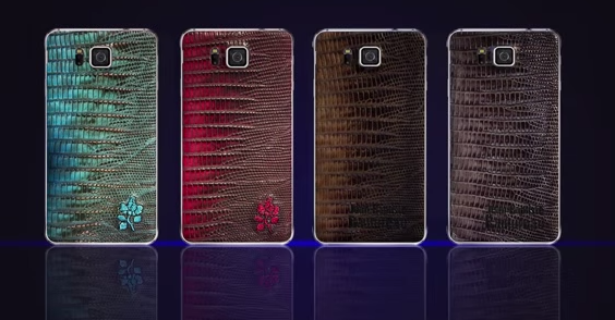Samsung Galaxy Alpha Gets Snakeskin Leather Treatment; Will It Arrive In India