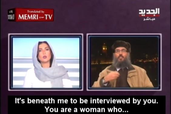 Lebanese TV host video