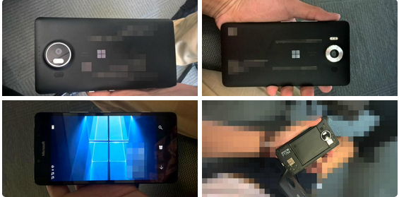 Lumia 950, Lumia 950XL leak hours before the official launch: Shows Windows 10 logo, PureView cam