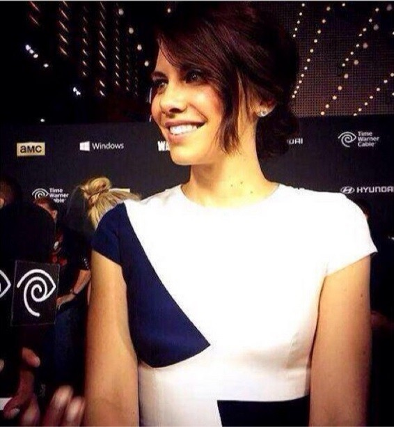 Removed Lauren cohan moving pic speaking, would