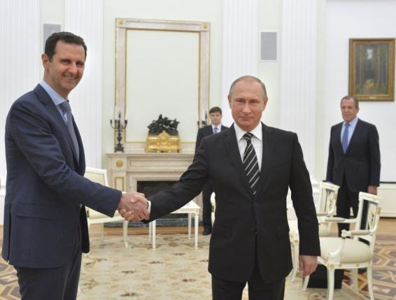 Assad putin