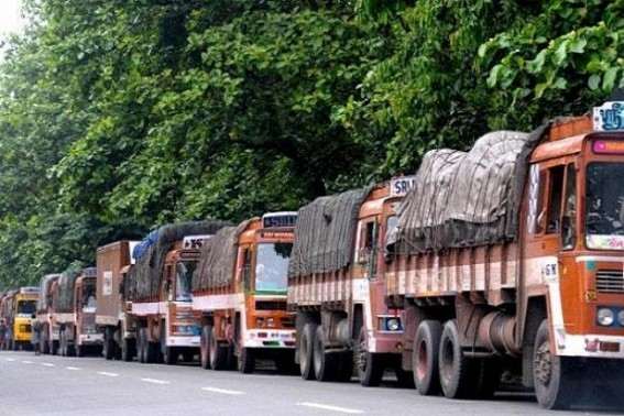Truck strike affect