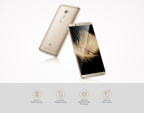 Flagship ZTE Axon 7 LTE smartphone now available to buy online from India; via GearBest