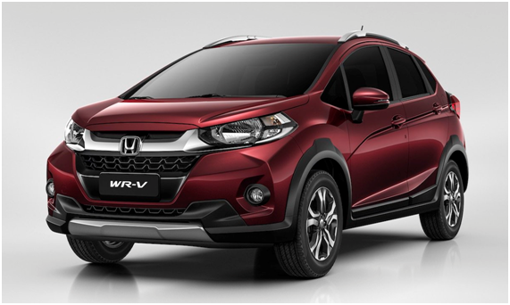 honda wr v crossover suv based on jazz unveiled coming to india in early 2017. Black Bedroom Furniture Sets. Home Design Ideas