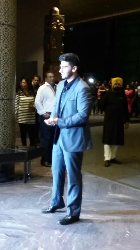 Arjun Kapoor at Shahid Kapoor Wedding Reception,Arjun Kapoor,actor Arjun Kapoor,Shahid Kapoor Wedding Reception,Shahid Kapoor Wedding Reception pics,Shahid Kapoor Wedding Reception images,Shahid Kapoor Wedding Reception photos,Shahid Kapoor Wedding Recept