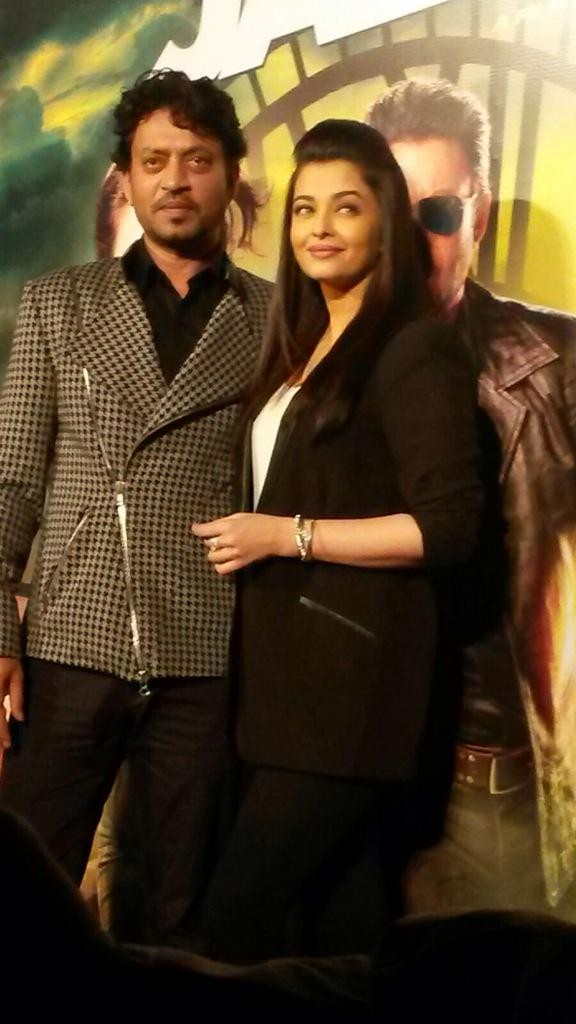 Jazbaa Trailer,Jazbaa Trailer Launch,Jazbaa,Aishwarya Rai Bachchan,Aishwarya Rai,Irrfan Khan,Jazbaa Trailer Launch pics,Jazbaa Trailer Launch images,Jazbaa Trailer Launch photos,Jazbaa Trailer Launch pictures,Jazbaa Trailer stills,bollywood movie Jazbaa