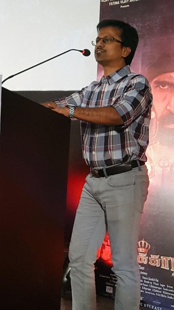 Pichaikkaran Audio Launch,AR Murugadoss,AR Murugadoss at Pichaikkaran Audio Launch,Vijay Antony's Pichaikkaran Audio Launch,Vijay Antony,Satna Titus,Pichaikkaran Audio Launch pics,Pichaikkaran Audio Launch images,Pichaikkaran Audio Launch photos,Pich