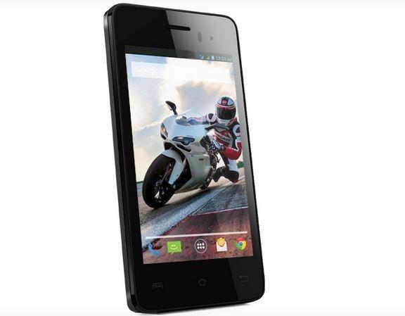 Lava Iris 406Q Quad-core smartphone