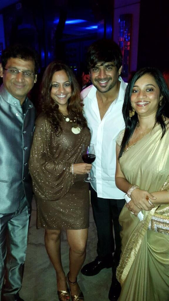 Madhavan at Trisha's Engagement Party