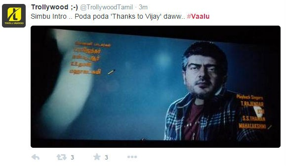 Simbu's Vaalu Movie Review,Vaalu Movie Review,Vaalu Review,Vaalu Review by fans,simbu,hansika motmani