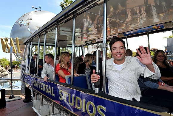 Jimmy Fallon is New Host of Universal Studios Tram Tour