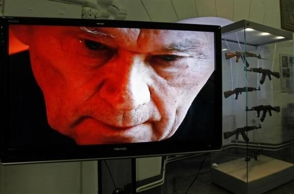 Designer of the World famous assault rifle, Mikhail Kalashnikov,died in Izhevsk, Udmurtia, on Monday at the age of 94.