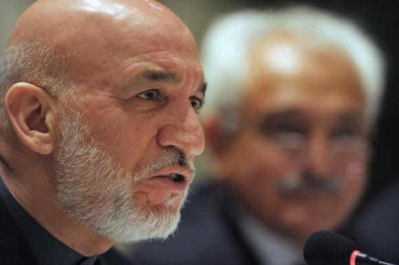Afghanistan's President Hamid Karzai