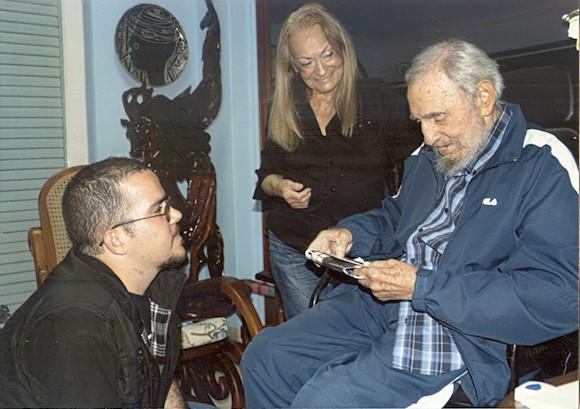 Former Cuban President Fidel Castro