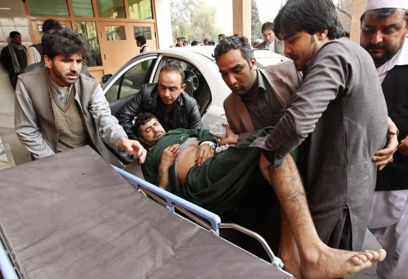 Suicide bomb attack in Afghnistan