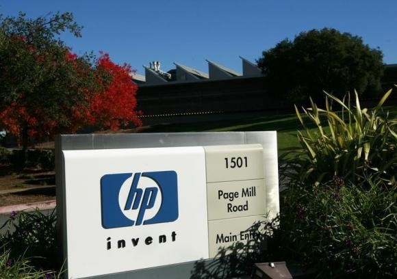 A view of the Hewlett Packard headquarters in Palo Alto, California November 23, 2009.