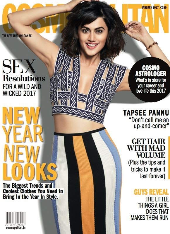 Image result for taapsee cosmopolitan and verve 2017