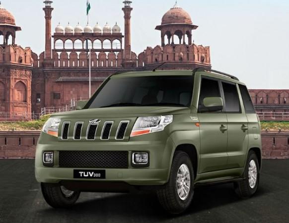 Mahindra TUV300 Bronze Green