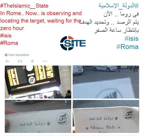 Isis in Italy