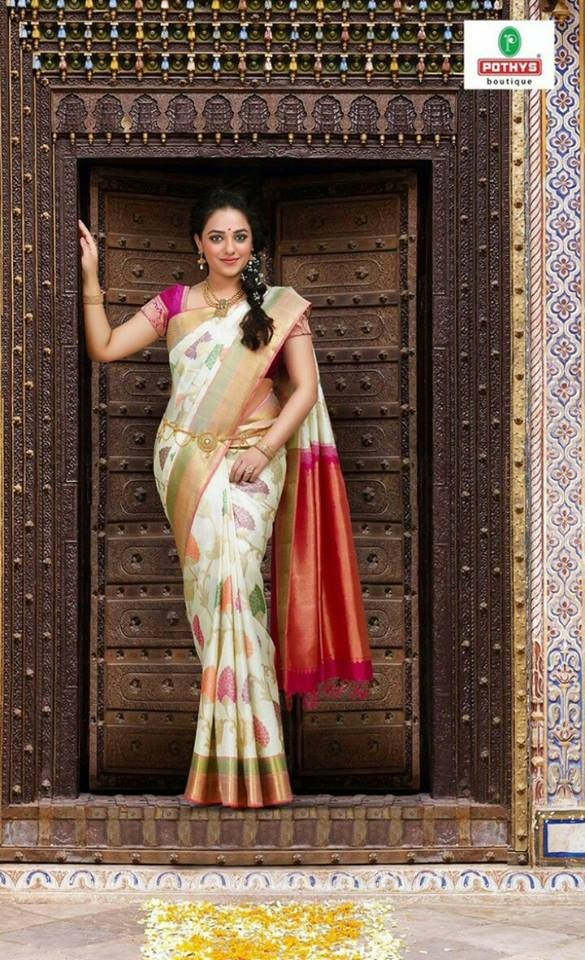 Nithya Menen,Nithya Menen Pothys saree ad,Pothys saree ad,actress Nithya Menen,Nithya Menen new pics,Nithya Menen new images,Nithya Menen new photos,Nithya Menen new stills,Nithya Menen new pictures,Nithya Menen in saree,Nithya Menen saree pics,Nithya Men