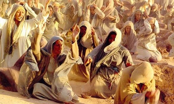 A still from the film on Prophet Muhammad