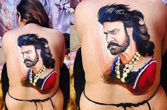 Crazy female fan of Prabhas