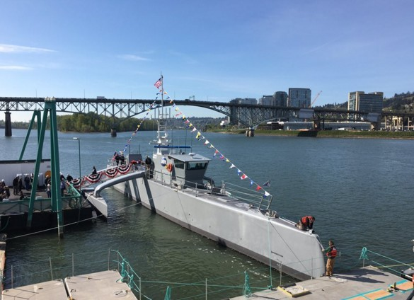 DARPA's new unmanned surface vessel