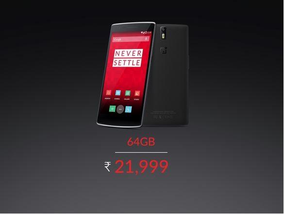 OnePlus One India Price