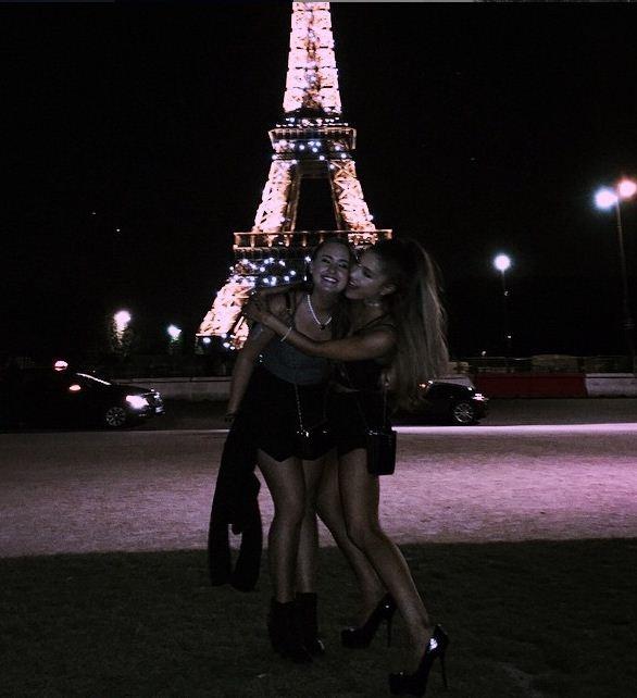 Ariana Grande at Paris