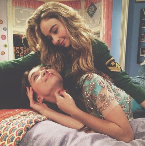 Riley and Maya in 'Girl Meets World