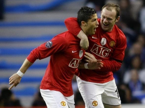 Cristiano Ronaldo, Wayne Rooney