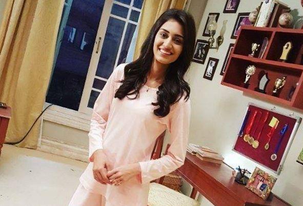 """""""Kuch Rang Pyar Ke Aise Bhi"""" actress Erica shares her hidden talent? Pictured: Erica Fernandes aka Sonakshi of """"Kuch Rang Pyar Ke Aise Bhi"""""""