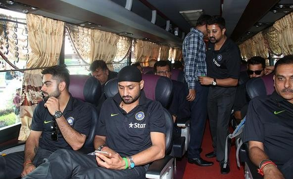 Indian Cricket Team have landed in Bangladesh,Indian Cricket Team,India vs Bangaldesh,Bangladesh,Cricket Team,team india,Virat Kohli,Harbhajan Singh