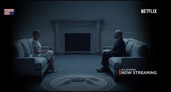 House of Cards has been nominated for four Primetime Emmy Awards