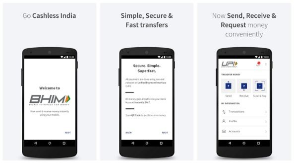 Google, Facebook, WhatsApp and Amazon to support UPI-based Payments