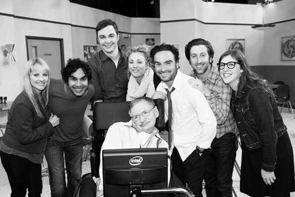 Big Bang theory, Stephen Hawking