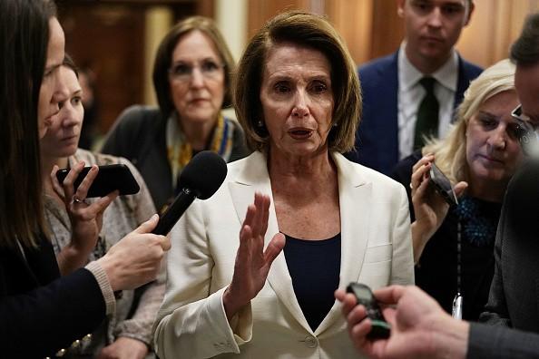 Nancy Pelosi,US politician Nancy Pelosi,Nancy Pelosi  eight-hour speech,Nancy Pelosi speech,Nancy Pelosi speech on DACA,Nancy Pelosi on DACA