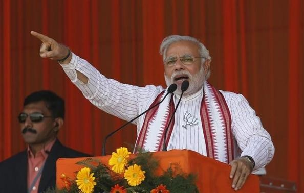 Narendra Modi, prime ministerial candidate for the main opposition Bharatiya Janata Party (BJP). (Reuters file photo)