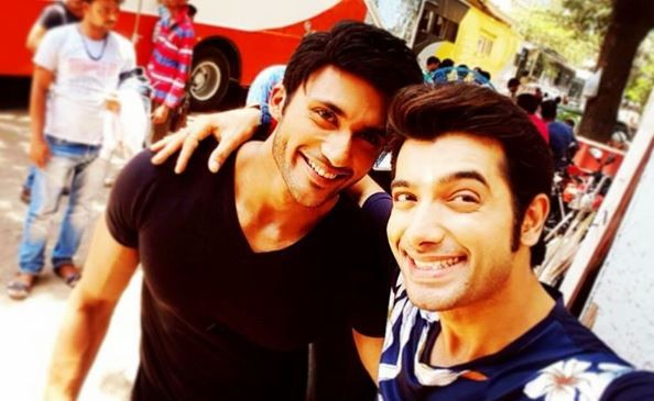 "Zuber K Khan to quit ""Kasam Tere Pyaar Ki."" Pictured: ""Kasam Tere Pyaar Ki"" actors Zuber K Khan (on left) and Ssharad Malhotra (on right)."