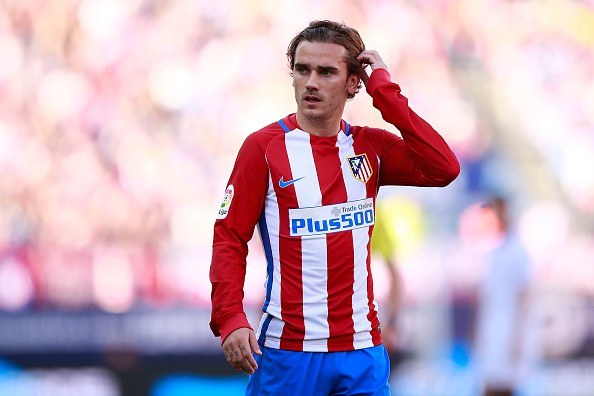 Atletico Madrid's Antoine Griezmann confirms his plans