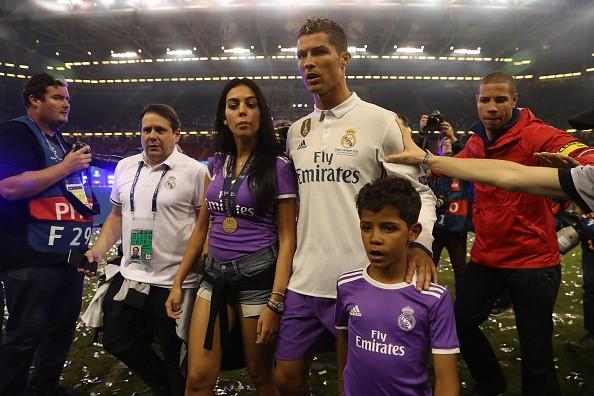 Cristiano Ronaldo, Real Madrid, Georgina Rodriguez