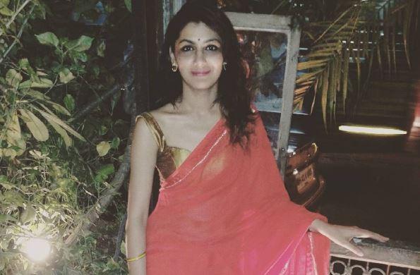 Sriti Jha started dating rumoured boyfriend Kunal Karan Kapoor before breaking up with her then boyfriend Harshad Chopra? Pictured: Sriti Jha