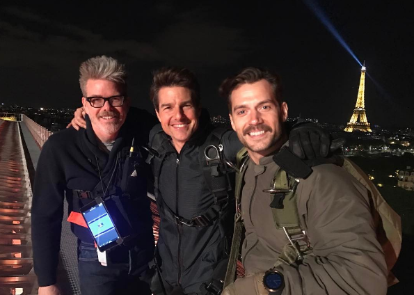 'M:I6' shoot halted as Tom Cruise injures ankle in stunt