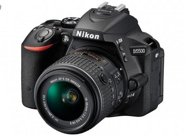 Nikon Unveils D5500 Entry Level DSLR camera