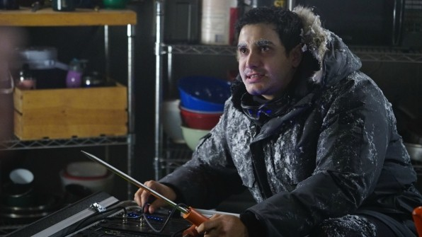 Team Scorpion faces freezing complications